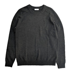 Selected Saddle Shoulder Jumper Forest Green