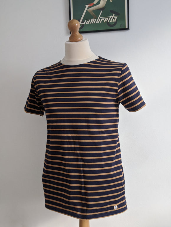 Armor Lux Sailor Shirt Navy/Gold