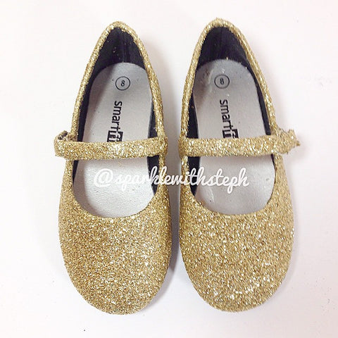 Glitter Shoes Flats Toddler