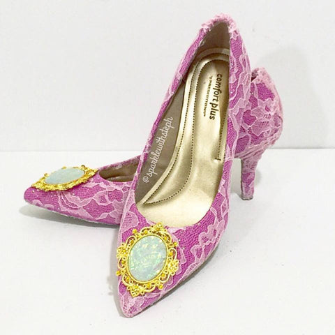 Lace Princess Heel