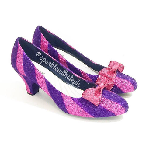 Cheshire Cat Kitten Heels