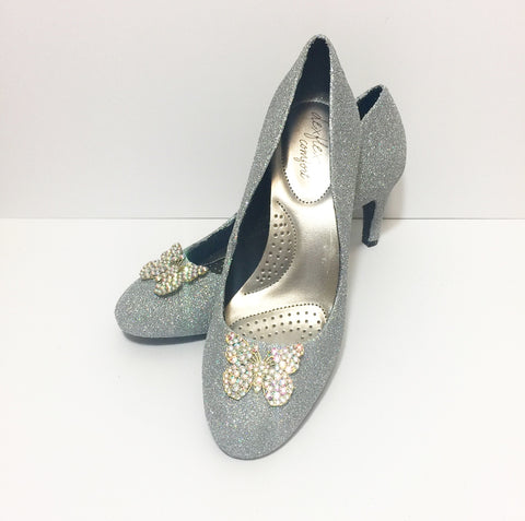 Cinderella Glass Slipper Heels
