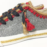 Flying Elephant Canvas Shoes