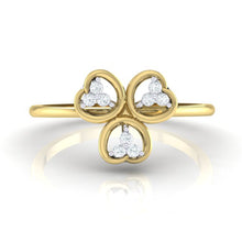 Load image into Gallery viewer, 18Kt gold real diamond ring 26(2) by diamtrendz