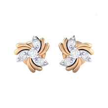 Load image into Gallery viewer, 18Kt Gold Diamond Earring