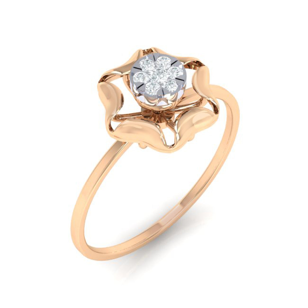 18Kt Gold Diamond Ring