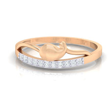 Load image into Gallery viewer, 18Kt Gold Diamond Ring