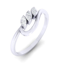 Load image into Gallery viewer, 18Kt white gold real diamond ring 33(1) by diamtrendz