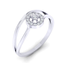 Load image into Gallery viewer, 18Kt white gold real diamond ring 39(1) by diamtrendz