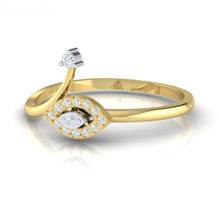 Load image into Gallery viewer, 18Kt gold marquise diamond ring by diamtrendz