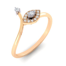 Load image into Gallery viewer, 18Kt rose gold marquise diamond ring by diamtrendz