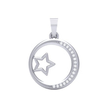 Load image into Gallery viewer, 18Kt Gold Diamond Pendant - Star