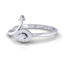 Load image into Gallery viewer, 18Kt white gold marquise diamond ring by diamtrendz