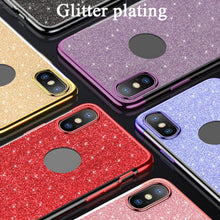 Load image into Gallery viewer, Glitter Phone Case Luxury Shockproof TPU Mobile Cover For IPHONE