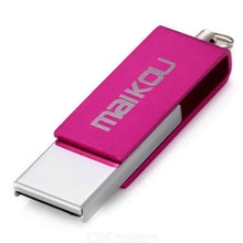 Load image into Gallery viewer, Maikou MK008 Mini rotating 32GB USB 2.0 Flash Drive U Disk