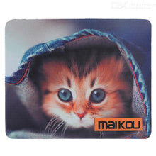 Load image into Gallery viewer, MAIKOU 21.8*18*0.2cm Lovely Cat Pattern Anti-Slip Non-Slip Mouse Pad Mat