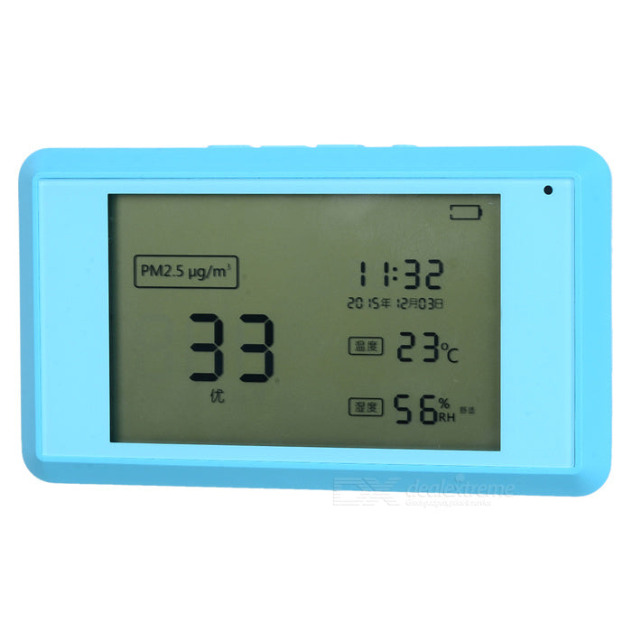 Smart PM2.5 Formaldehyde Gas Temperature Humidity Monitoring Tester