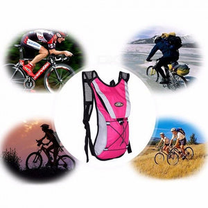 Outdoor Sports Riding Water Bag Bag Bicycle Bag Hiking Travel Backpack Men And Women Shoulder Bag Riding Bag Water Bag Jet-black/Other