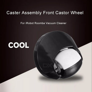 Caster Assembly Front Castor Wheel For IRobot Roomba Vacuum Cleaner 500 600 700 800 Series Replacment Black