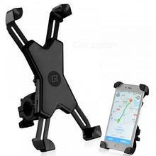 Load image into Gallery viewer, Universal Bike Phone Stand PVC Bicycle Handlebar Mount Holder for iPhone Samsung HTC Sony Cellphone Cycling Accessories Black 1