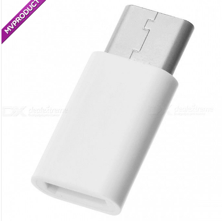 USB 3.1 Type-C Male to Micro USB Female Adapters