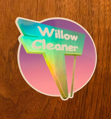 Willow Cleaner Sticker | Long Beach | Limited Edition