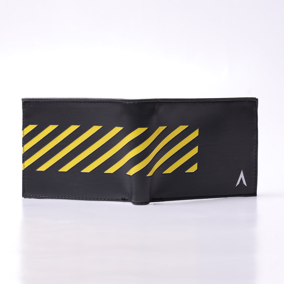DARC 0104 BLACK detail YELLOW