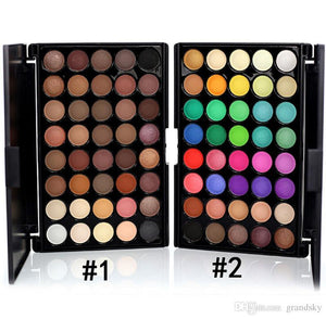 40 Color Eyeshadow Cosmetic Makeup Set