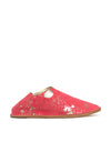 Cerise and Gold Splash Slip On