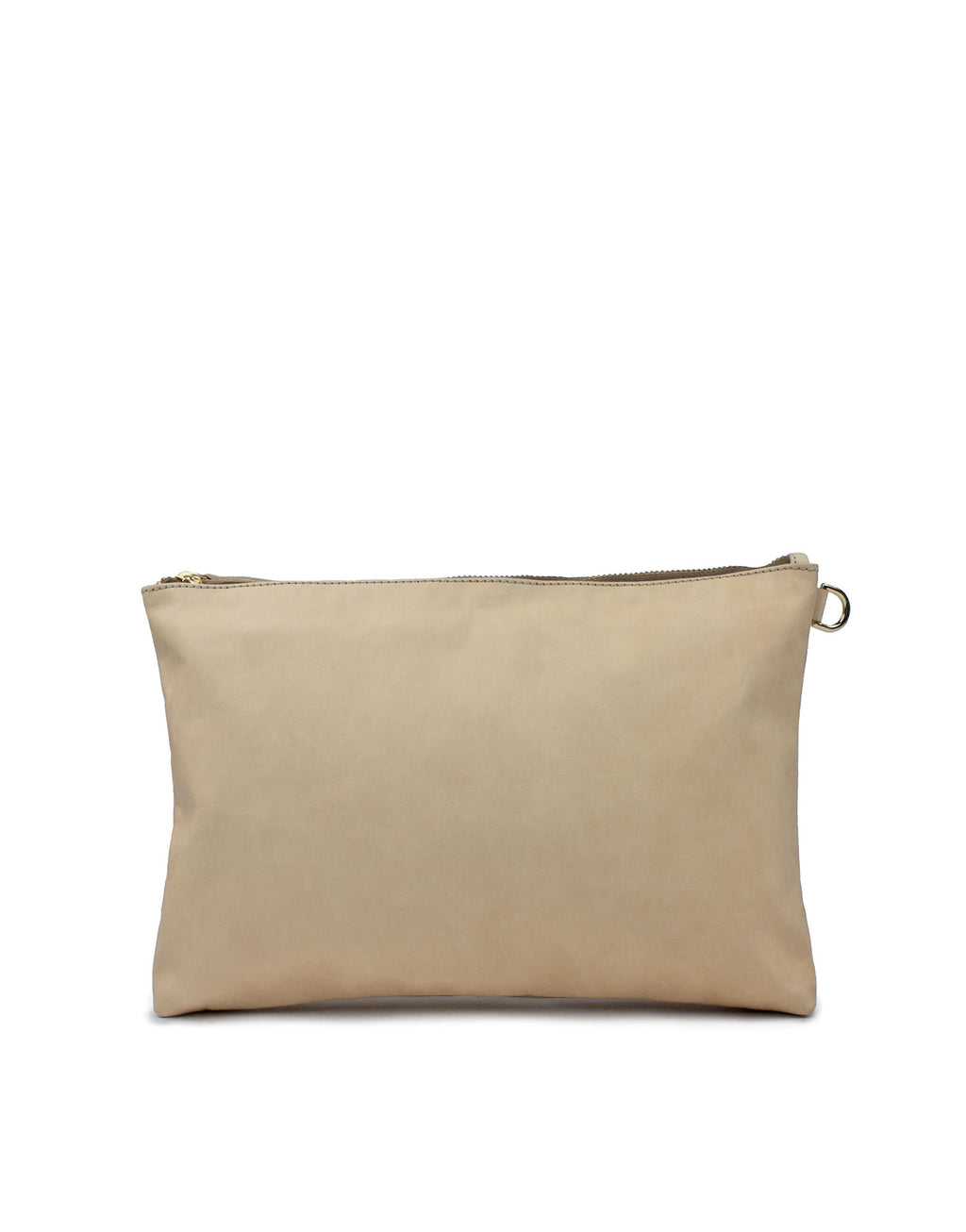 Natural vegetable tanned leather clutch, only one available at the moment!