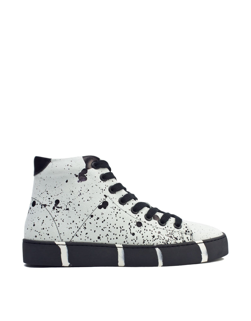 High top designer art to wear sneaker by Georgina Goodman