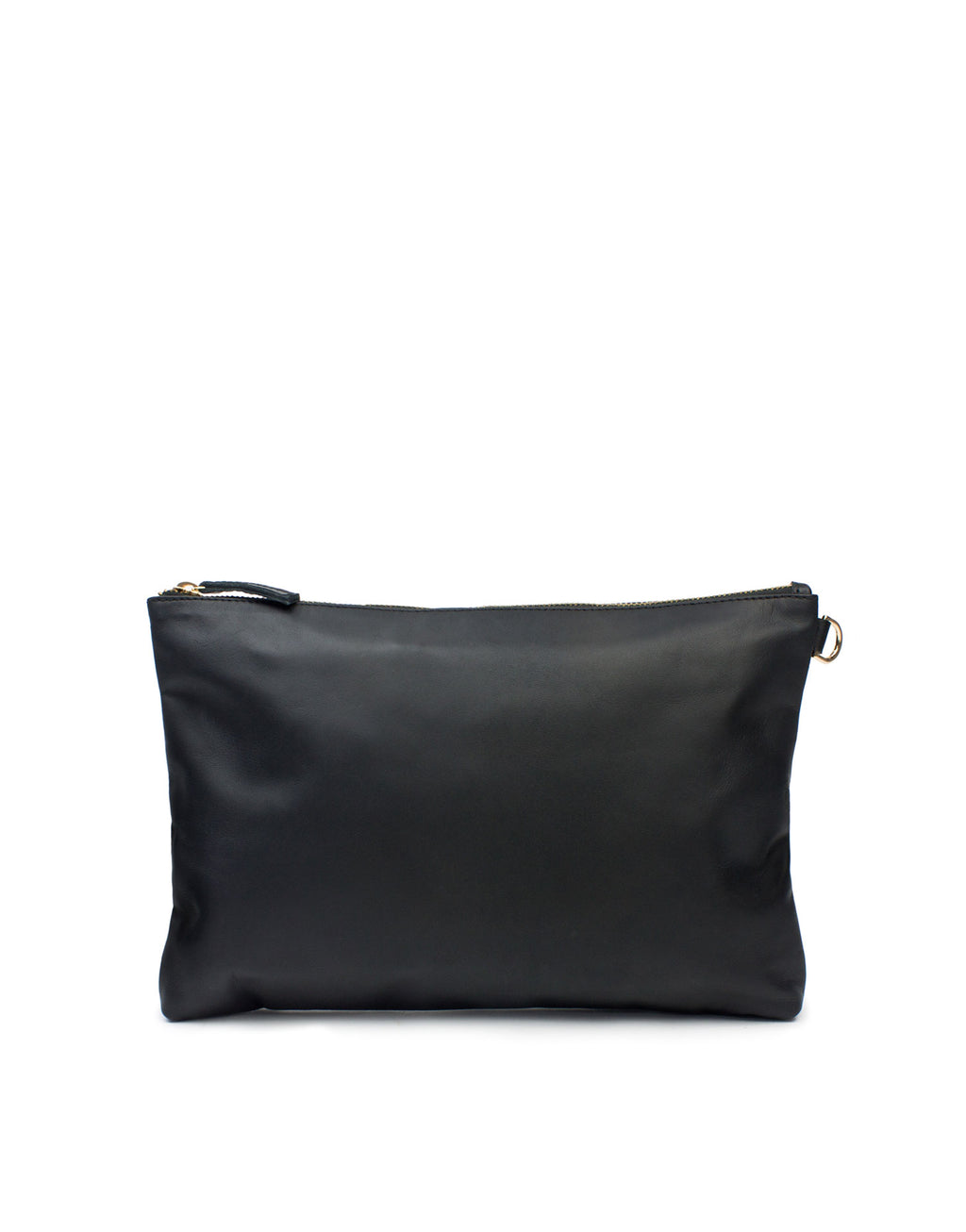 Medium designer leather bag by Georgina Goodman, this soft leather pouch bag has many uses, wear alone as a clutch or use to keep essential item safe in a larger bag by day. Designed with soul and Made in Love.