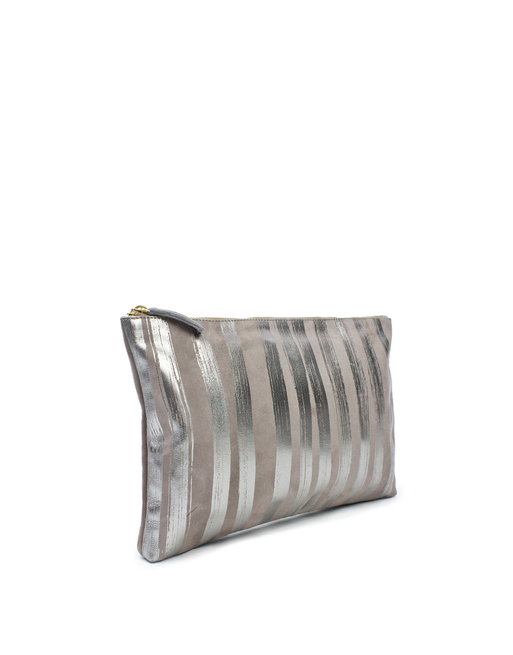 Georgina Goodman soft leather medium design pouch. Simply wear alone as a clutch or use to keep smaller items safe in a large bag by day. This is amazing and useful currently one of a kind leather bag.