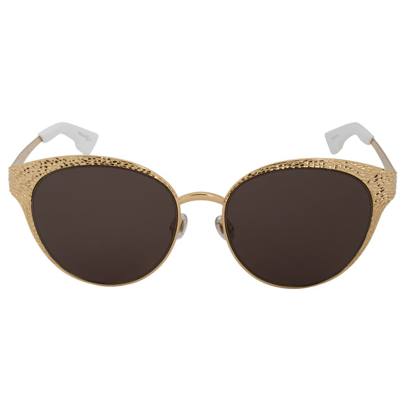 58a6c9d261f Christian Dior 24 Karat Gold Unique Y3B8E Sunglasses