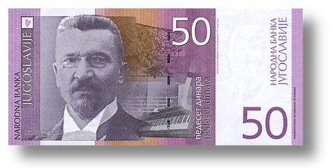 The Currency of Serbia is the Dinar