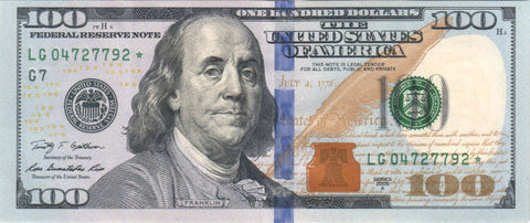 The dollar is the currency of the United States
