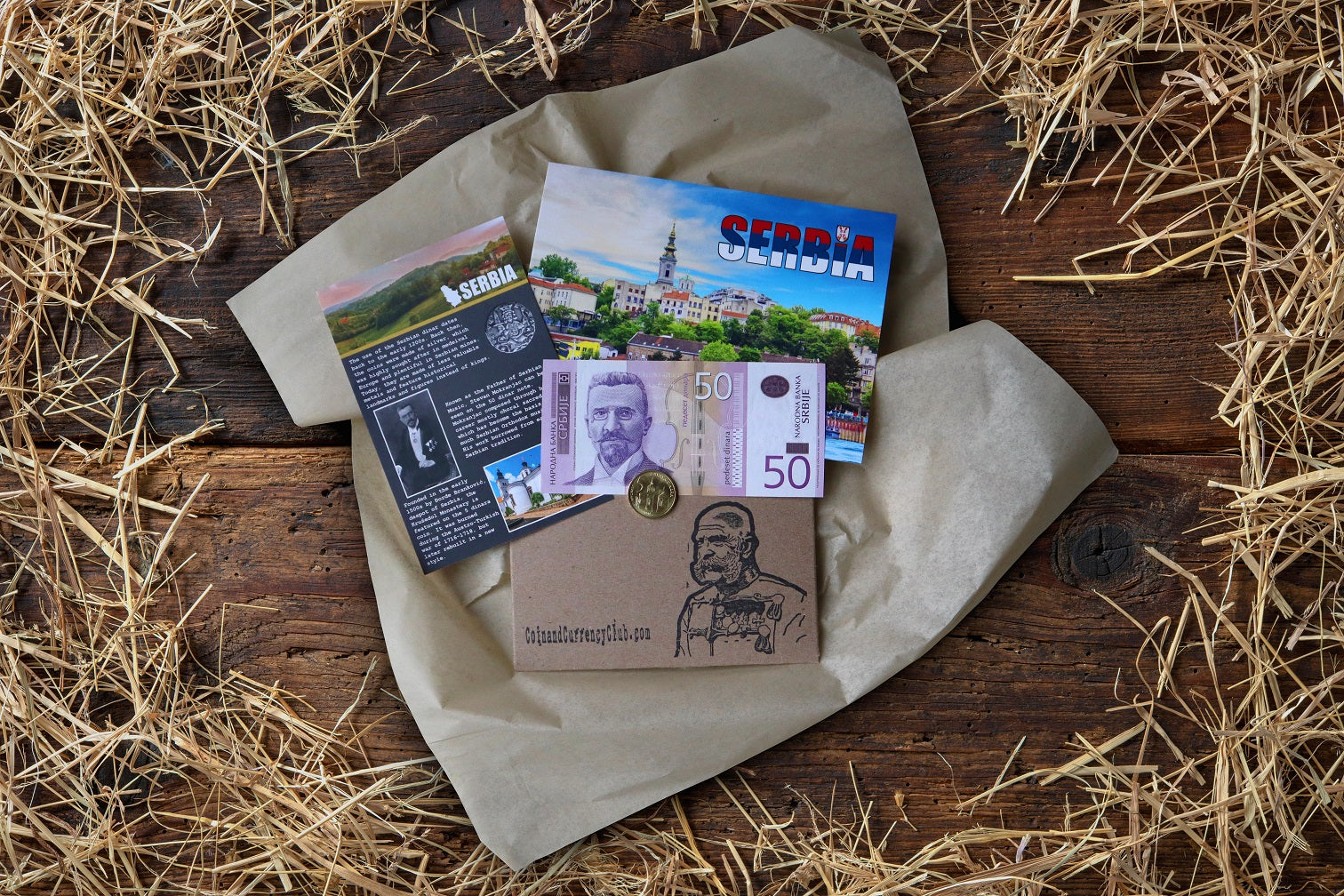 Coin and Currency Club, a Monthly Coin and Banknote Subscription Box