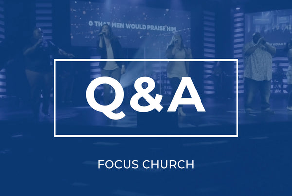 Q&A with Focus Church Production Team