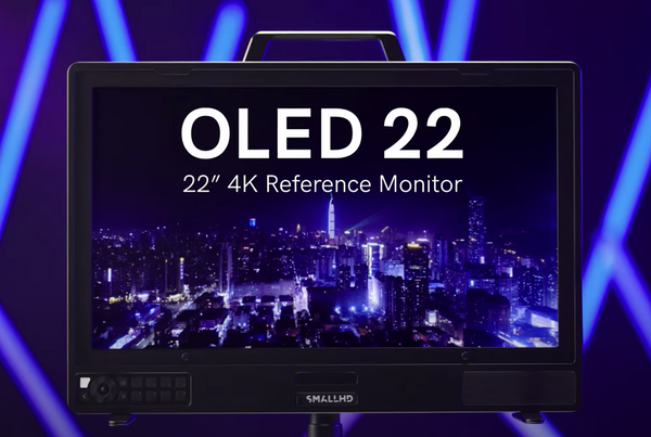 NOW SHIPPING! OLED 22: For The Color Purist.