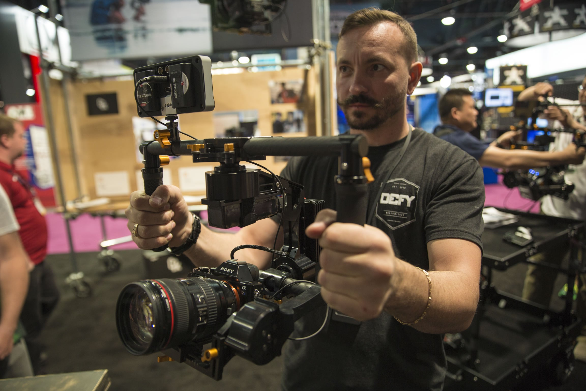 Defy GX2 and SmallHD 502 Field Monitor