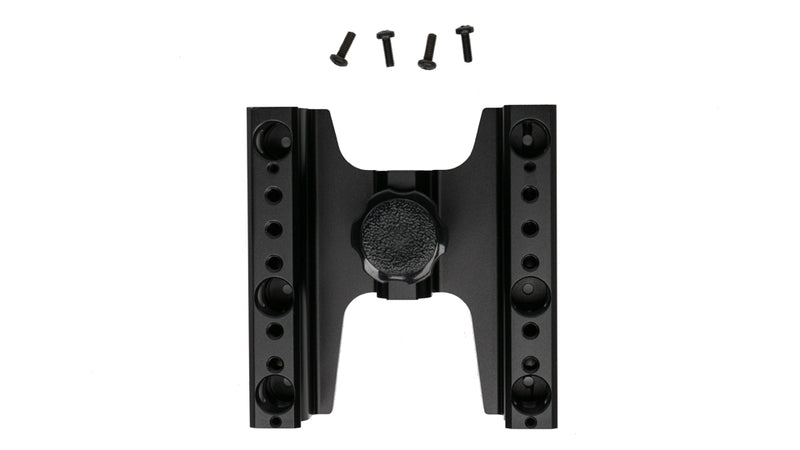 C-stand mount with VESA compatibility