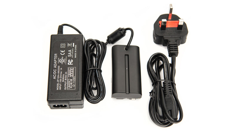 UK - AC Power to Sony L-Series Faux Battery
