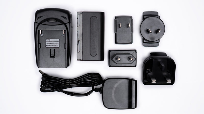 L-Series Battery Kit with Interchangeable AC Plugs