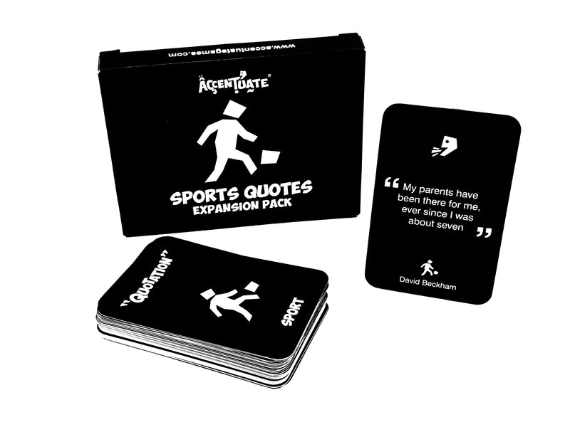 Accentuate® Sports Quotes Expansion Pack
