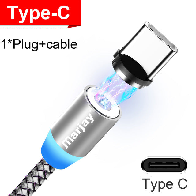 Magnetic Fast Charging Cable (For EVERY Phone)