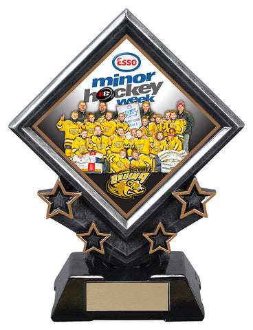 """Diamond Star Holder"" Distinctive Trophy"
