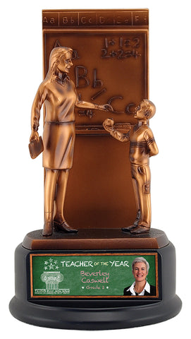 """Teacher"" Distinctive Trophy"