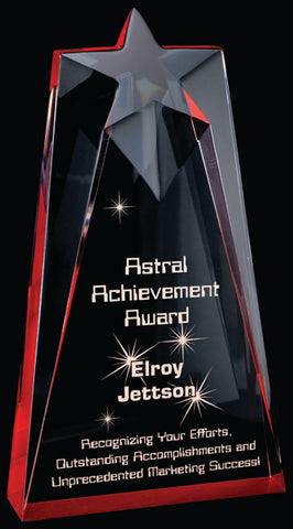 """Astral"" Radiant Acrylic Award"