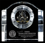 """Chello Clock"" Crystal Clock Award"
