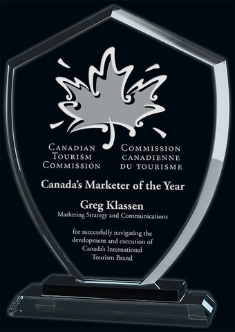 """Conquest"" Glass Award"